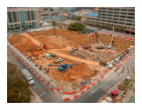 Earth Excavation at new Marriot